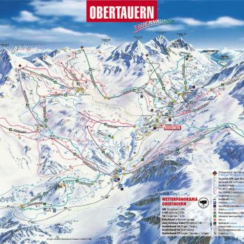 Obertauern_pályatérkép