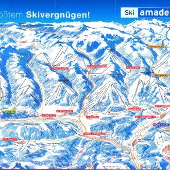 Ski Amade_pályatérkép